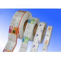 Quality Heat Sensitive Adhesive Paper Stickers , Adhesive Label Paper For Protective Film for sale