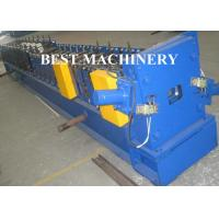 Quality Portabe Eblow Water Channel Pipe Roll Forming Machine Hydraulic Mould Cutting for sale