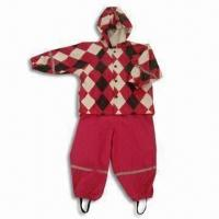 Quality Children's Rain Set with Transfer Printing for sale