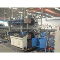 Quality Automatic PE / PVC Double Wall Corrugated Pipe Machine PLC control system for sale