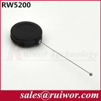 Quality Anti Theft Pull Box Retractable Tether Cord Round Shaped For Product Positioning for sale
