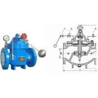 China Water Tank Float Control Valve Ductile Iron with Stainless Steel Floating Ball on sale