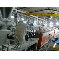 Quality Wood Plastic Composite Decking Production Line / PVC Profile Extrusion Line for sale