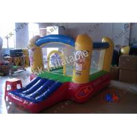 Quality Air Tight Inflatable Bouncer With Slide , Funny House Inflatable Moonwalk for sale