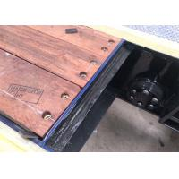 Quality Merbau Semi Trailer Spare Parts Timber Floor 3-5mm Thickness For Truck for sale
