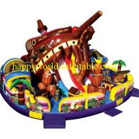 Buy cheap theme superman inflatable playground   , inflatable amusement park , inflatable obstacle from wholesalers