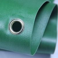 Quality Green 100 Woven Polypropylene Textiles With Holes For Solvent Printing for sale
