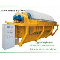 Quality Durable vacuum disc filter , vacuum ceramic filter Filtration of concentrates for sale
