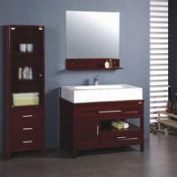 Quality Oak Bathroom Cabinet with 95.2 x 51 x 16cm Basin Size for sale