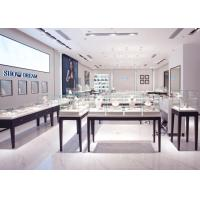 Quality OEM Showroom Display Cases , Fashion Jewellery Shop Interior Design Plans for sale