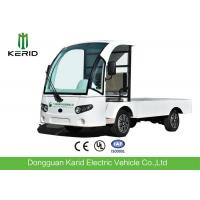 Quality 72V AC Motor Electric Cargo Van Truck With Hydraulic Tail Lift , Loading Capacity 1.5 Ton for sale