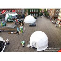 Buy Popular White Diameter 8M Geodesic Dome Party Tent at wholesale prices