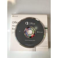 Buy cheap Microsoft Office 2019HB DVD Package Key Code Office Home and Business 2019 from wholesalers