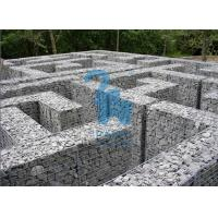 Quality Architectural / Geotechnical Stone Steel Gabion Baskets For Garden Paving for sale