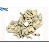 Quality Microporous Coral Live Sand Fish Aquarium Gravel With PH Value For Sea Water Tanks for sale