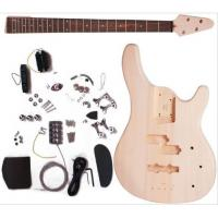 Buy 24 Fret Mahogany Unfinished Electric Bass Guitar Set With 864mm Scale AG-BS1 at wholesale prices