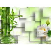 Quality Decoration Eco Friendly 3D Bamboo Wall Panels for Living Room or Kitchen , Easy Install for sale