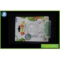 Recycled Soft PVC Plastic Blister Packaging , Transparent Slide Toy Blister Card