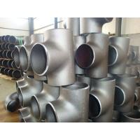 Quality SS316L SS310 Stainless Steel Weld Fittings , 904L  Sch10 - Sch160 Industrial Pipe Fittings for sale