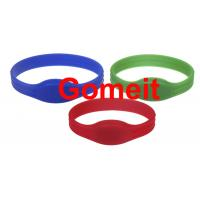 Entry Rfid Wristband Access Control For Events , Entrance Rfid Chip Bracelet