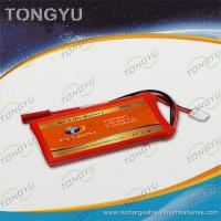Quality UN38.3 MSDS Approval Airplane RC Battery Pack 7.4V 360mAh 20C Heli Battery for sale
