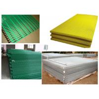 """Quality PVC Welded Mesh Panel Green,Yellow2""""x2"""",1""""x1"""" for sale"""