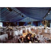 Quality Large  Wedding Tents With Internal Decoration for sale