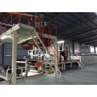 Quality Bitumen Carpet Tile Production Line Touch Screen With Hot - Air Circulation Oven for sale