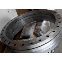 Buy cheap Hot rolled wind power tower flat flange and pipe line flange from wholesalers