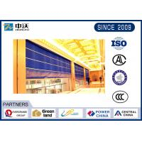 Galvanized Steel Strip Fireproof Roller Shutters For Large Material Market