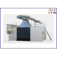 Buy cheap Professional Single Burning Item Test Apparatus / SBI Fire Test Equipment from wholesalers