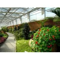 Side Height 2-6m PC Sheet Greenhouse / Clear Polycarbonate Greenhouse For Flower for sale