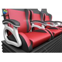 Quality Simulator Arcade PU Leather Movie Theater Seats for sale