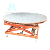 Quality 8000kg Hydraulic Revolving Platform Stage Equipment For Car Concert for sale