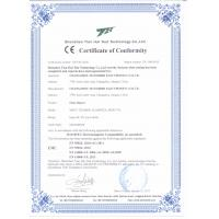 CHANGZHOU MANORSHI ELECTRONICS CO.LTD. Certifications
