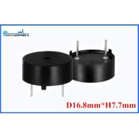 Quality Passive Piezo Transducer for Round Speaker , 4kHz Small Enclosed Piezo Buzzer 9V for sale