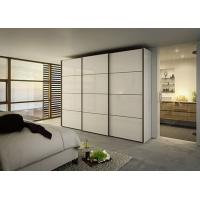 Quality 2018 Vermont Bedroom Modern White Particle Board Sliding Door Wardrobe for sale