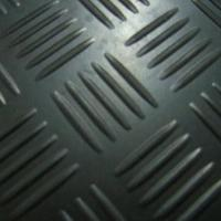 Quality Rubber Garage/Checker Flooring with Anti-skid Surface, Available in Black, Red, Gray and Green for sale