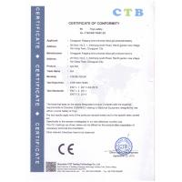 Dongguan City Xiegang Aifei Silicone Products Factory(AF Doll) Certifications