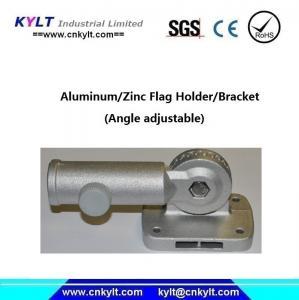 Quality Aluminum Rail Mount Flagpole Boat Holder/Socket for sale