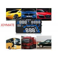 Quality Vehicle mounted black HUD Head Up Display with OBD Projection adaptive cruise control for sale