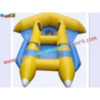China Customized 0.9MM PVC tarpaulin Inflatable fly-fish Boat Toys for Kids on sale