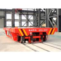 Quality Aluminum factory bay to bay handling electric flat rail transport trailer for sale