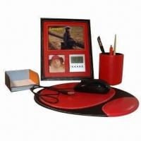 Quality Business Gift Set, Made of PU Leather for sale