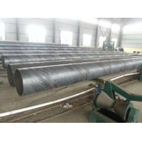 Quality Spiral Welded SSAW Steel Pipe Anti Corrosion / Anti Rust Paint For Water Engineering for sale