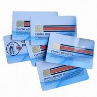 Quality IC cards/smart cards/chip cards, used in banks and traffic for sale