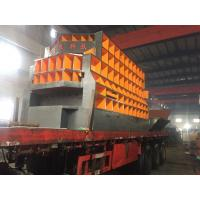 Quality Scrap Metal Automatic Shear Machine Control Carried Out By Grabber Crane Operator for sale