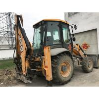 China 4 in 1 JCB 3CX ECO bucket Used Backhoe Loader 4 Wheel Drive 81KW on sale