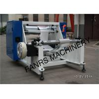 Buy Semi-automatic Aluminum Foil Roll Rewinding Machine For Small Foil Roll Kitchen at wholesale prices