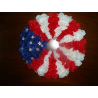 Quality Silk vases Artificial Decorative  Flowers Garlands with the Stars and Stripes Design   for sale